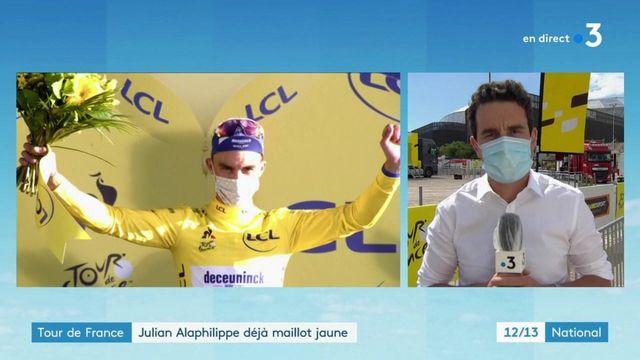 Tour de France : Julian Alaphilippe déjà maillot jaune