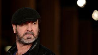Eric Cantona, le 19 octobre 2015 à Rome (Italie). (TIZIANA FABI / AFP)