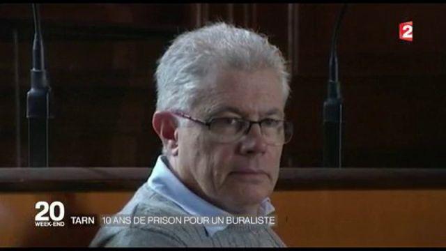 Tarn : dix ans de prison pour un buraliste