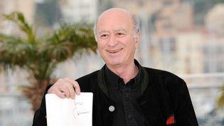 Georges Wolinski lors du festival de Cannes, le 16 mai 2008. (ANNE-CHRISTINE POUJOULAT / AFP)