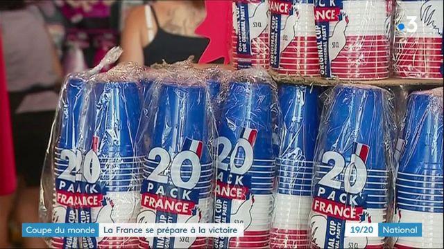 Coupe du monde : la France se prépare à la victoire