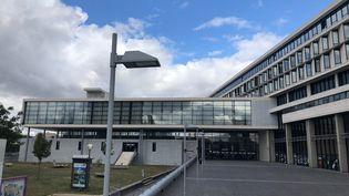 L'université de Cergy Pontoise (Val-d'Oise).  (ALEXIS MOREL / RADIO FRANCE)