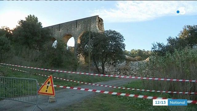 Gard : un aqueduc centenaire s'effondre