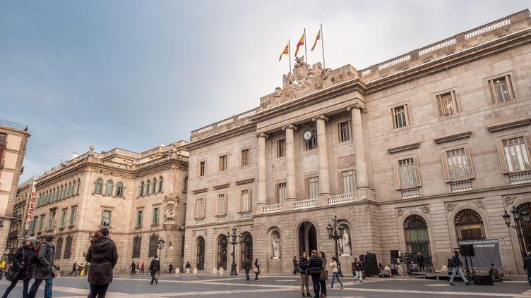 Mairie de Barcelone, le 28 janvier 2014 (image d'illustration). (FRANCISCO CALVINO#133312 / MOMENT MOBILE ED)
