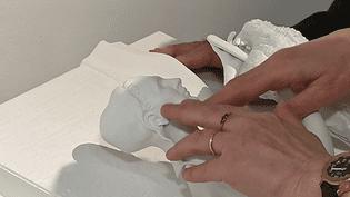 L'impression 3D permet au public malvoyant de découvrie onze oeuvres du musée de l'Ardenne  (France 3 / Culturebox )