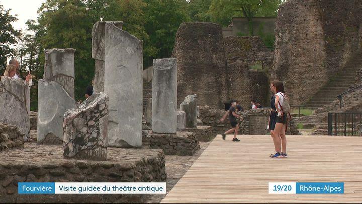 Une découverte vivante de Lugdunum - musée et Théâtre antiques de Lyon. (J. Adde / France Télévisions)