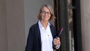 La ministre de la Culture Françoise Nyssen, à la sortie du Conseil des ministres le 12 juillet 2017.  (PIERRE VILLARD/SIPA)