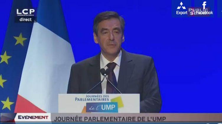 François Fillon (Photo à partir d'une capture d'écran sur le LCP)
