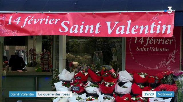 Saint-Valentin : la rose française se raréfie