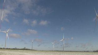 Éolienne dans l'Orne. (FRANCE 2)