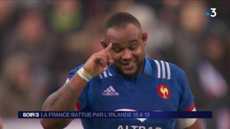 Les Bleus ont cru à la victoire contre l'Irlande. (FRANCE 3)