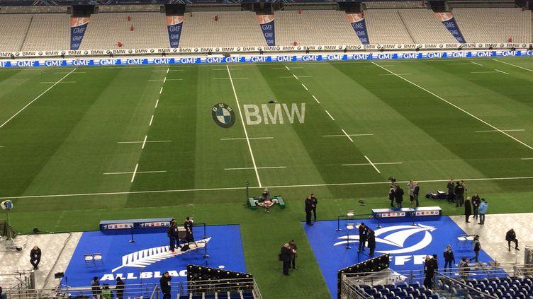 Le Stade de France prêt pour accueillir le match France - Nouvelle-Zélande