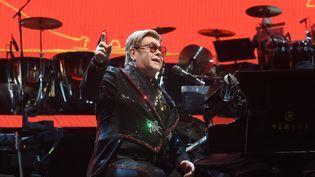 Elton John en concert en juillet 2019 à Munich. (FELIX HORHAGER / DPA)