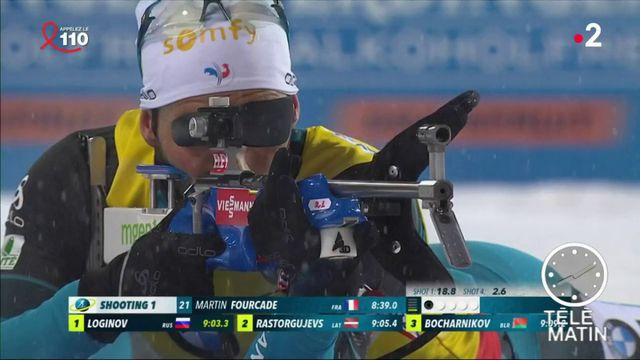 Biathlon : Inarrêtable Fourcade