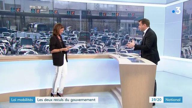 Loi mobilités : le gouvernement revient en arrière