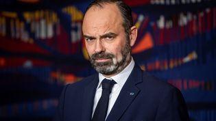 Le Premier ministre Edouard Philippe à l'Hôtel Matignon à Paris, le 20 janvier 2020 (THOMAS SAMSON / AFP)