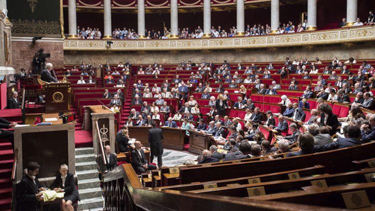 """(Parmi les signataires de """"l'appel des 200"""", le président de l'Assemblée nationale Claude Bartolone © MAXPPP)"""
