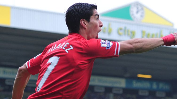 L'attaquant de Liverpool Luis Suarez