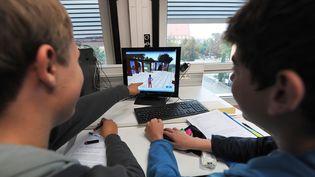 Comment les enfants utilisent-ils internet ? (FREDERICK FLORIN / AFP)
