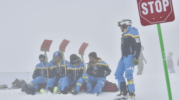 Le 11 février 2017, à Saint-Moritz (Suisse). (FABRICE COFFRINI / AFP)