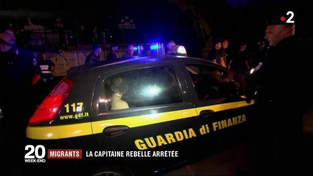 Migrants : la capitaine du Sea-Watch a été interpellée à Lampedusa