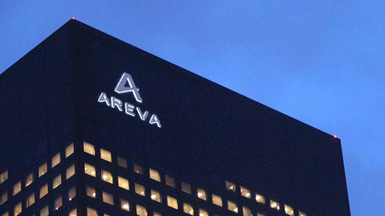 (Illustration : l'immeuble d'Areva à la Défense, en janvier 2016 © MAXPPP)
