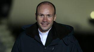 Le père Georges Vandesbeusch, à Villacoublay (Yvelines), le 1er janvier 2014. (JACQUES DEMARTHON / AFP)