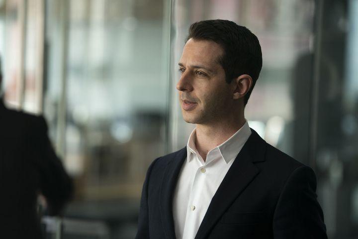 Le personnage de Kendall Roy, interprété par Jeremy Strong. (HBO)