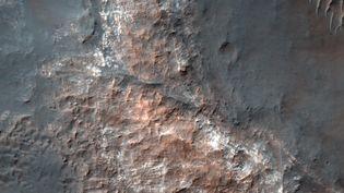Image de reconnaissance dela planète Mars obtenue le 1er juillet 2017 par la NASA. (AFP PHOTO / NASA / JPL-Caltech / Univ. of Arizona)