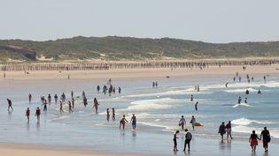 La plage de Calais (Pas-de-Calais), le 25 juin 2018. (MAXPPP)