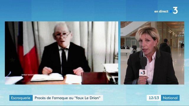 """Justice : le procès de l'arnaque au """"faux Le Drian"""" s'ouvre"""
