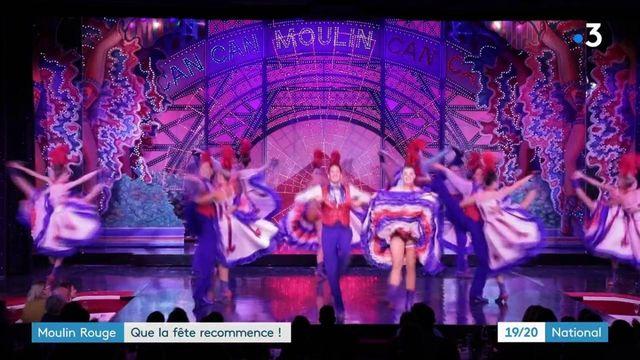 Moulin Rouge : le célèbre cabaret rouvre ses portes après 18 mois de fermeture
