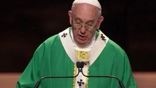 Le pape François, star des États-Unis