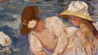 Détail d'une toile de Mary Cassatt, « L'été », 1894   (Terra Foundation for American Art)