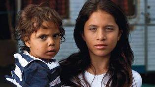 Extrait de l'affiche de l'exposition de photos consacrée aux Roms
