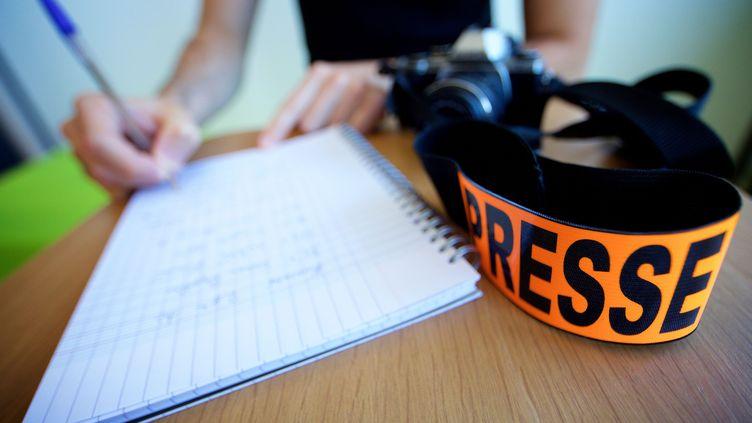 La semaine de la presse et des médias à l'école s'ouvre à l'international avec des évènements prévus du lundi 18 au vendredi 23 mars en France et dans de nombreux pays partenaires. Photo d'illustration. (JOHAN BEN AZZOUZ / MAXPPP)