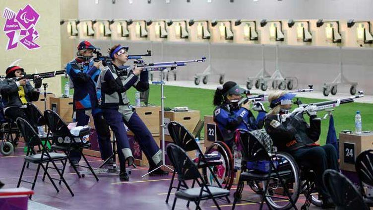 Les concurrentes du tir se disputent la première médaille de ces Jeux
