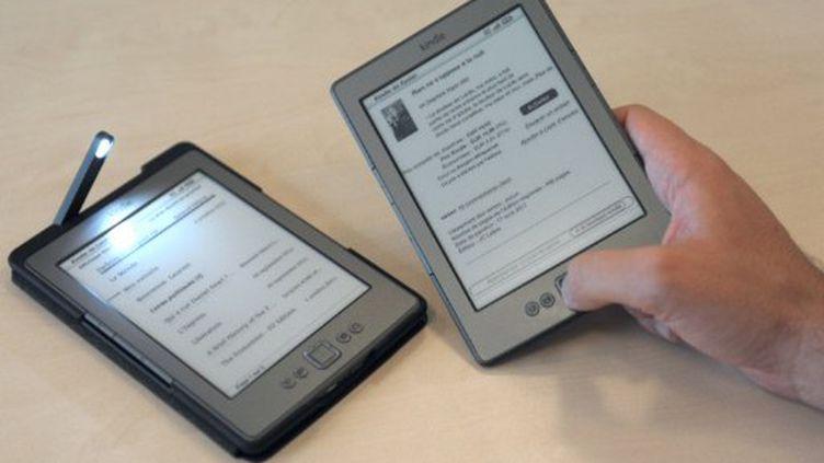 La liseuse 4ème génération n'est pas tactile, et peut contenir jusqu'à 1400 titres en mémoire. (ERIC PIERMONT)