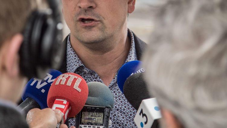 Le président du département du territoire de Belfort Florian Bouquet, à Belfort le 28 mai 2019. (MARC ANDR? / MAXPPP)