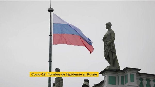 Russie : flambée de l'épidémie de Covid-19