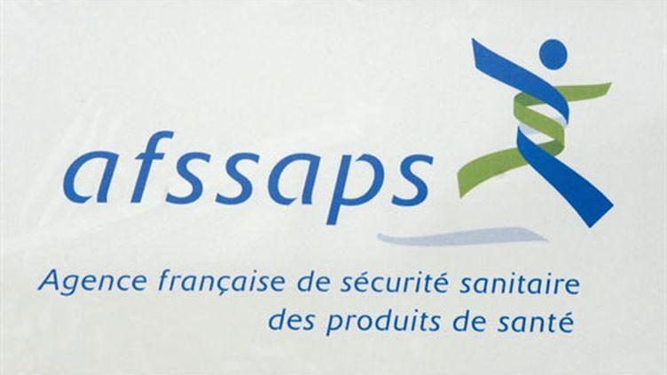 Le logo de l'Afssaps (AFP / Stéphane de Sakutin)