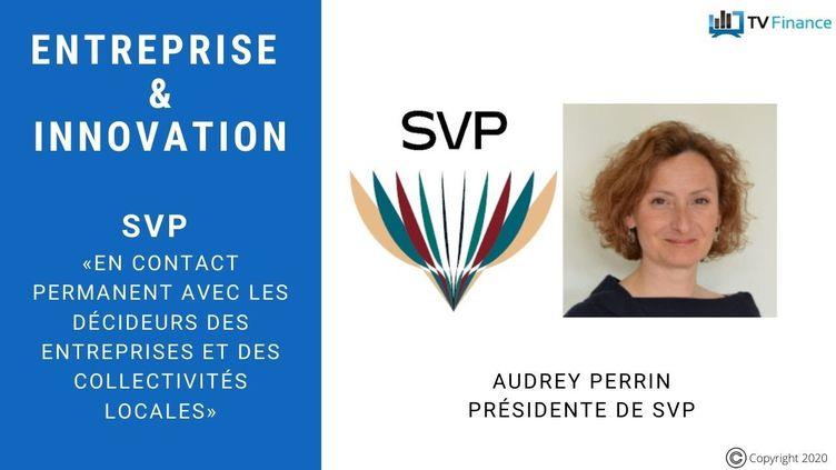 Audrey Perrin, PDG de la société SVP (SVP)