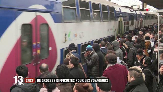 SNCF : de grosses difficultés pour les voyageurs