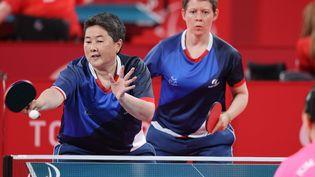 ThuKamkasomphou et Anne Barneoud sont médaillées de bronze par équipe. (France Paralympique)