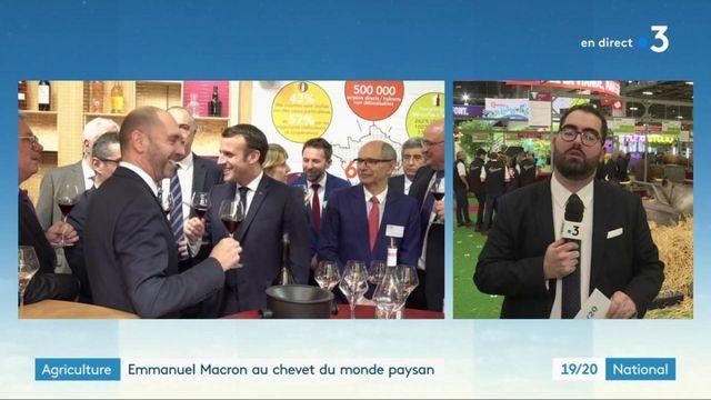 Salon de l'agriculture : Emmanuel Macron continue d'écouter le monde paysan