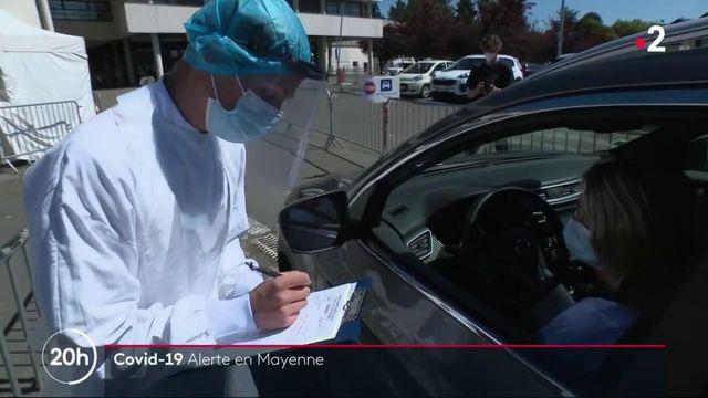 Coronavirus : alerte en Mayenne
