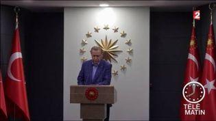 Le président Erdogan bénéficie de pouvoirs étendus. (FRANCE 2)