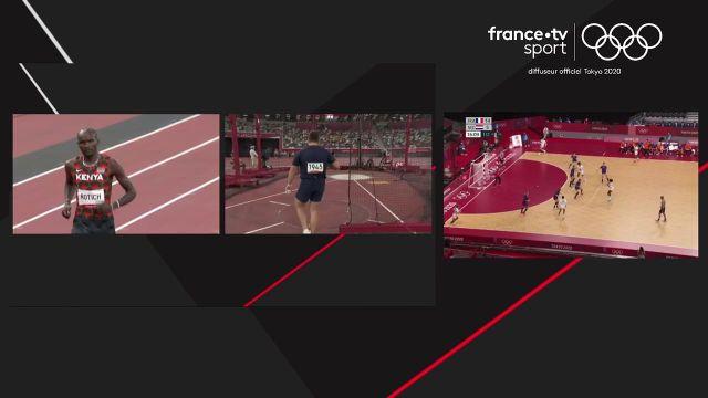 Le Kenyan Emmanuel Korir triomphe sur le 800 m devant son compatriote Ferguson Rotich. Le Français Gabriel Tual prend la 7e place.