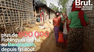 Le quotidien des réfugiés Rohingyas dans un camp au Bangladesh (Brut.)