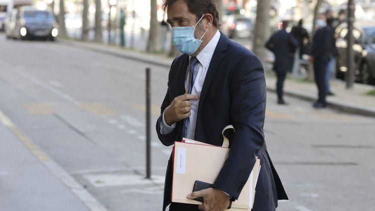 Christophe Castaner, le 21 octobre 2020 à Paris. (LUDOVIC MARIN / AFP)